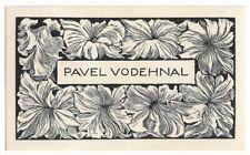 FRANTISEK KOBLIHA: Exlibris für Pavel Vodehnal, 1943