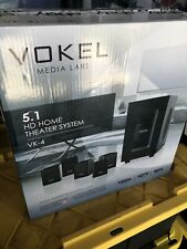 Vokel Media Labs 5.1 Home Theater Surround Sound 1500W Vk-4 New In Box