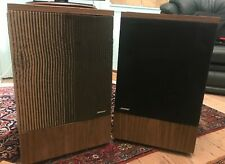 More details for pair of rare vintage 1977 bose 501 speakers. need cosmetic refurb