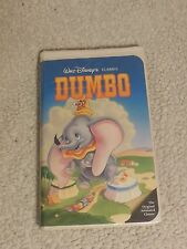 Dumbo -- Walt Disney's Black Diamond Classic (VHS)  **RARE!