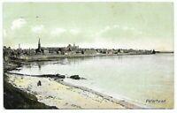 Vintage Post Card c. 1911 Peterhead Aberdeenshire, Scotland Beach