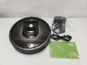 iRobot Roomba 980 R Robot Vacuum Wi-Fi ALEXA Compatible Manufacturer Refurbished
