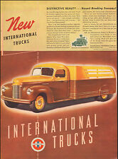 1941 Vintage ad for New International Trucks`Art Brown two tone retro  (030717)