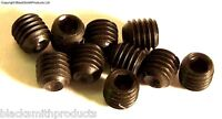 M3 x 5mm 3 x 5 Black Grub Screws x 10 1.5mm Hexagon Socket Head