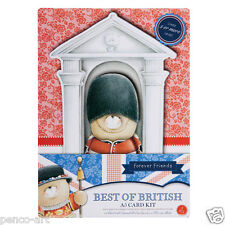 Papermania Forever friends decoupage A5 card kit. Best of British Queens Guard