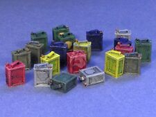 Resicast 1/35 2 Gallon Fuel Cans with Brand Names (20 cans, 4 dif. types) 352360