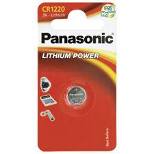 1 x Panasonic  Batterie CR1220 Lithium 3V Knopfbatterie CR 1220 Battery NEW