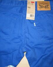 Levi's 514 Straight Fit Blue Pants For Men Sz Waist 30/Length 32 - NWT $58