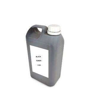 1x UNIVERSAL BULK BLACK TONER REFILL FOR HP LASERJET / CANON ( 1kg 1,000grams )