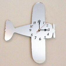 Bi-Plane Mirrored Clock