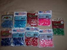 Plastic Craft Beads Lot Jewelry Making Christmas Ornaments Starflake Tri