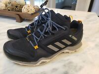 Adidas Mens Terrex AX3 GTX Walking Hiking Outdoor Shoes Legend Ink Size 10.5