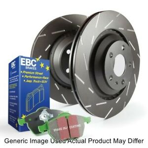 EBC S2KR2332 Rear S2 Kits Greenstuff 2000 & USR Rotors For Volkswagen Golf R NEW
