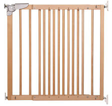 DOLLE Treppenschutzgitter Türgitter Holz Kinder Absperr Gitter 75,6-110 cm