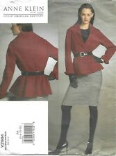 Vogue Sewing Pattern 2984, Anne Klein Wrap Jacket & Tapered Skirt, Size 6-12 NEW