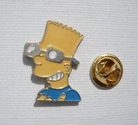 Cartoon Simpsons BART SIMPSON Rare LY PARIS Vintage Enamel METAL PIN BADGE Pins