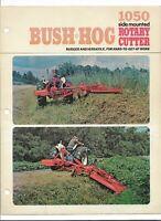 Bush Hog Powered Products ATV Implements Brochure Big Red Honda Cover