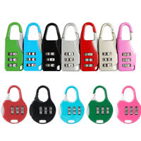 7Colors Alloy Code Suitcase Luggage Dial Password Digit Combination Lock Tool
