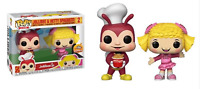 Jollibee & Hetty Spaghetti Funko Pop Vinyls New in Mint Box + Protector