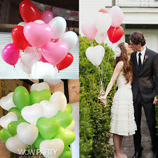 12pcs Latex Heart Love Ballons Party Wedding Holiday Marriage Proposal Decorat