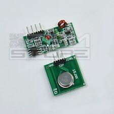 2 pz moduli RF 433 Mhz trasmettitore ricevitore arduino pic shield - ART. CI02