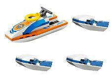 LEGO City water jet (pack of 4) police rescue scooter surfer bike BRAND NEW