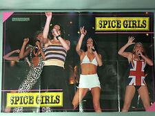 Spice Girls 1998 Hit Sensations Poster Series Vol 1 No 7 Excellent Cond. Mel B