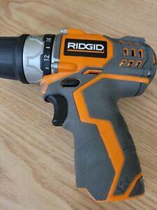 "RIDGID 12V POD-STYLE 3/8"" DRILL/DRIVER - MODEL# R82009 Tool only"