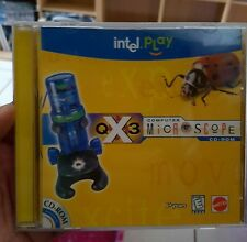 Intel Play - Computer Microscope (cd only) PC GAME - FREE POST