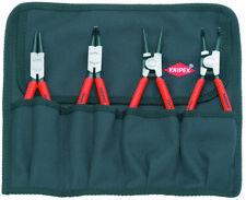 Knipex 4pc Snap Ring Plier Set Internal External Circlip 001956 in Tool Roll