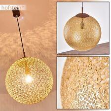 Lampe à suspension Retro Plafonnier Lustre de salon Lampe pendante dorée 184323