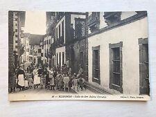 Elizondo Calle de Don Jaime Urrutia Postcard Ref035