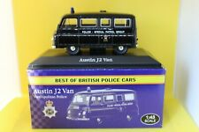 Atlas Best of British Police Cars Austin J2 Van - Metropolitan Police