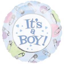 """ITS A BOY! Bambino Anagramma Foil Balloon 18"""" XL Xtra Life"""
