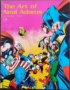 The Art of Neal Adams (Volume 1, 1975) A Must for Neal Adams Fans!