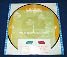 """THE BEATLES The British Are Coming 1982 UK 12"""" vinyl Interview  PICTURE DISC 3D"""
