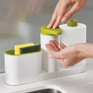 Kitchen Accessories Bathroom Liquid Soap Dispenser Bottle Storage Box With Tank