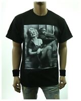 Hip Hop Music Graphic T-Shirt Cute Marilyn Monroe TUPAC Fashion Printed Gift Tee