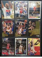 Michael Jordan Pack of 9 NBA Cards - Various Upper Deck Collectors Choice