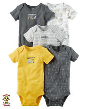 Carter's Bodysuits 5-Pack Short Sleeve Set 3 months Authentic and Brand New