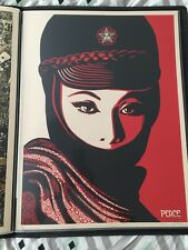 Shepard Fairey Obey Giant Mujer Fatal Print AP SIGNED AND NUMBERED- RARE 2007!