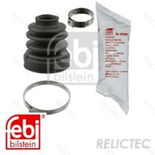 Front CV Driveshaft Boot Bellow Cover Kit Ford:FOCUS 1117220 XS4J4A084AA
