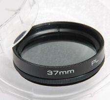 37mm PL Polarizer Photo Filter for Camera Lens Eitar w/Case - BULK NEW G10