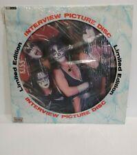 kiss interview picture disc limited edition vinyl LP