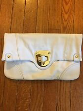 Faux Leather White Clutch By Urban Expressions ($68) Nordstroms