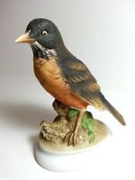 VINTAGE LEFTON CHINA HAND PAINTED KW 395 ROBIN LEFTON TRADE MARK EXCLUSIVE JAPAN