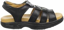 Cogent Women's Shoes Shape Up Balanced Walk Leather Sandals Iris Black 7.5 M