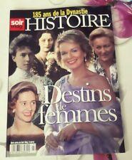 revue magazine special noblesse et royautes destins de femmes 185 ans rare royal