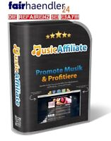 WP MUSIK AFFILIATE - Promote Music und profitiere iTUNES AMAZON Web Project MRR