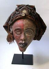 Vintage Bakongo Mask, Very Nice